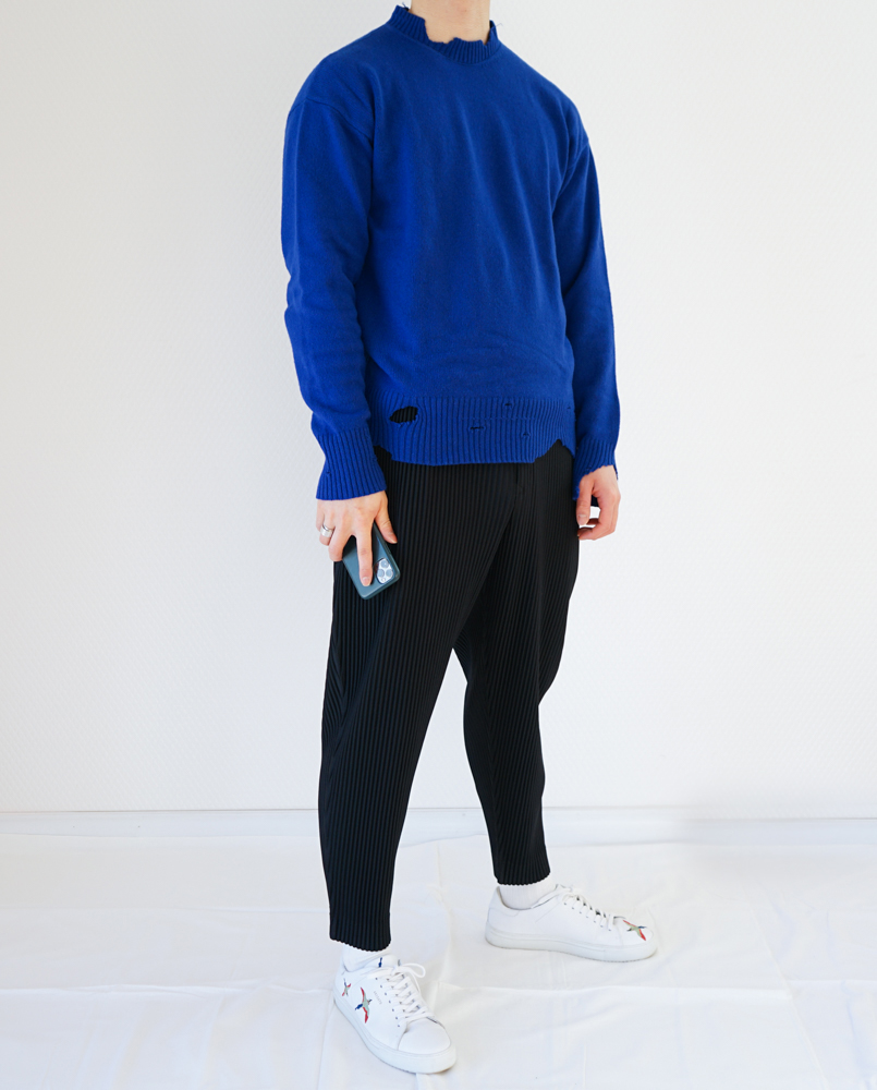 【HOMME PLISSÉ  ISSEY MIYAKE】パンツ着用レビュー